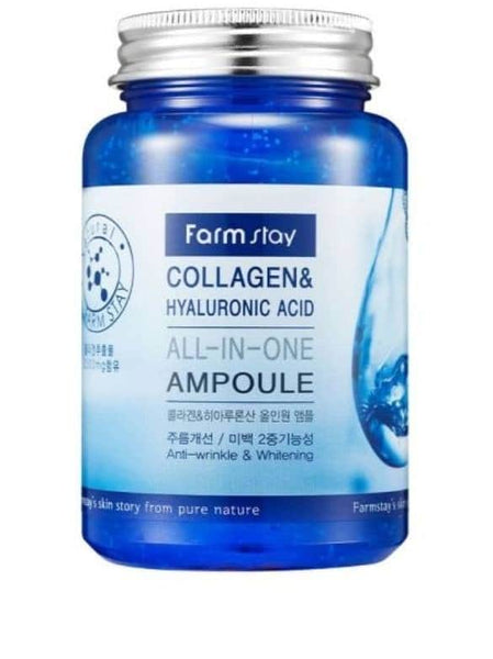 Farmstay Collagen & Hyaluronic Acid All-In-One Ampoule 250ml