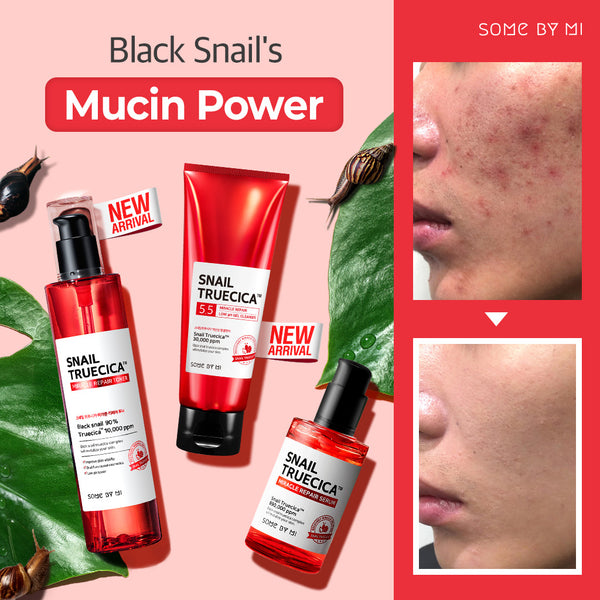 SNAIL TRUECICA MIRACLE REPAIR LOW pH GEL CLEANSER 100ML