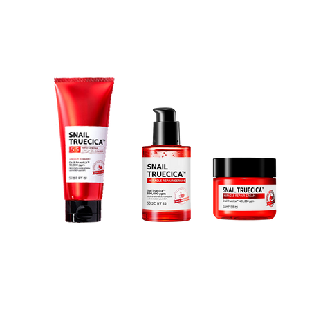 SNAIL TRUECICA TRIO SET [Cleanser+Serum+Cream]