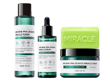 AHA BHA PHA 30 DAYS MIRACLE SET