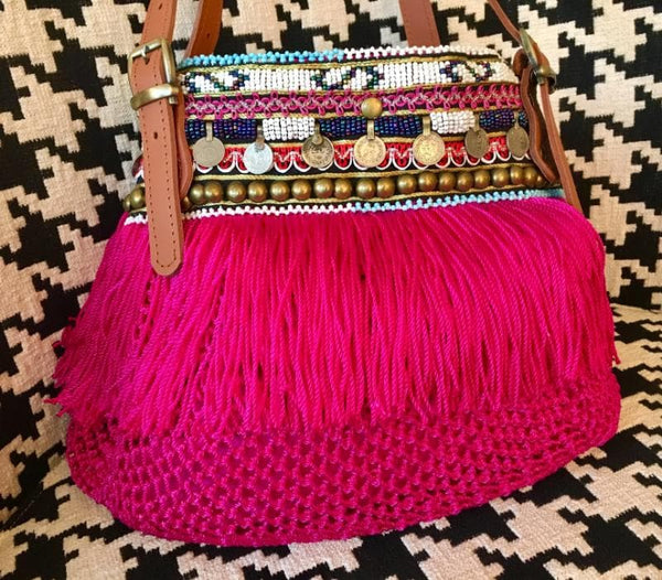 Elliot Mann Indie Bag Mini pink