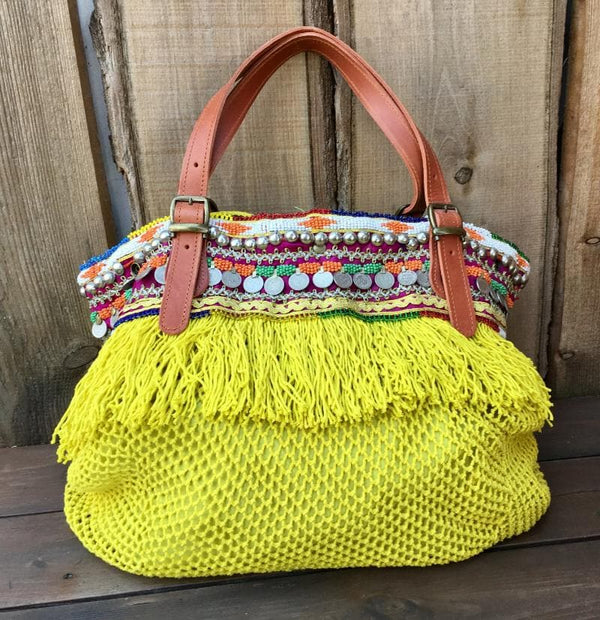 Elliot Mann Indie Bag Cotton gelb
