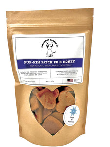 Pup-kin Patch PB & Honey  8oz.