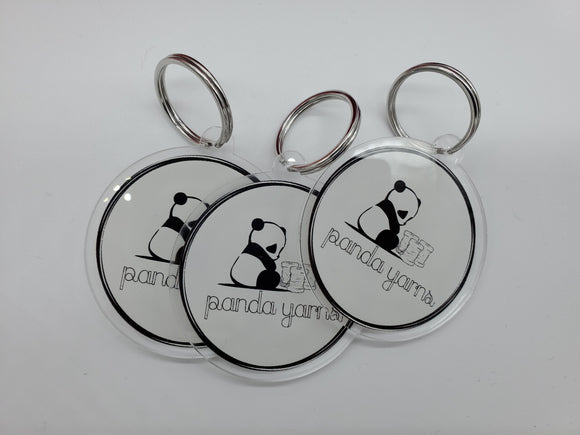 Limited Edition Panda Yarns Key Chain