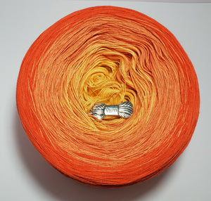Begin Your Day With Laughter Gradient Yarn