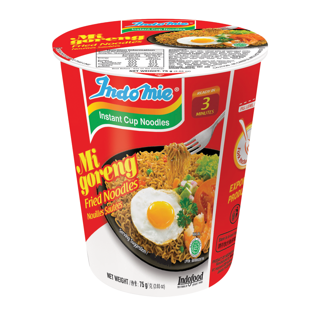 Mi Goreng Fried Cup Noodles - CASE of 12 cups