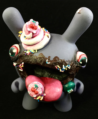 "Custom Designer Toy - 5"" Purple Ube Dunny"