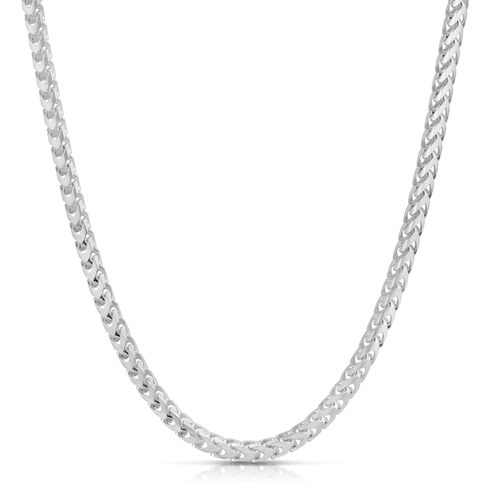 Sterling Silver Franco Chain