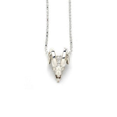 Parvus Ram Skull Necklace