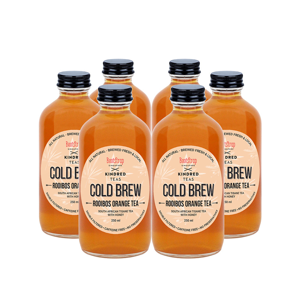 Load image into Gallery viewer, Rooibos Orange Cold Brew Tea
