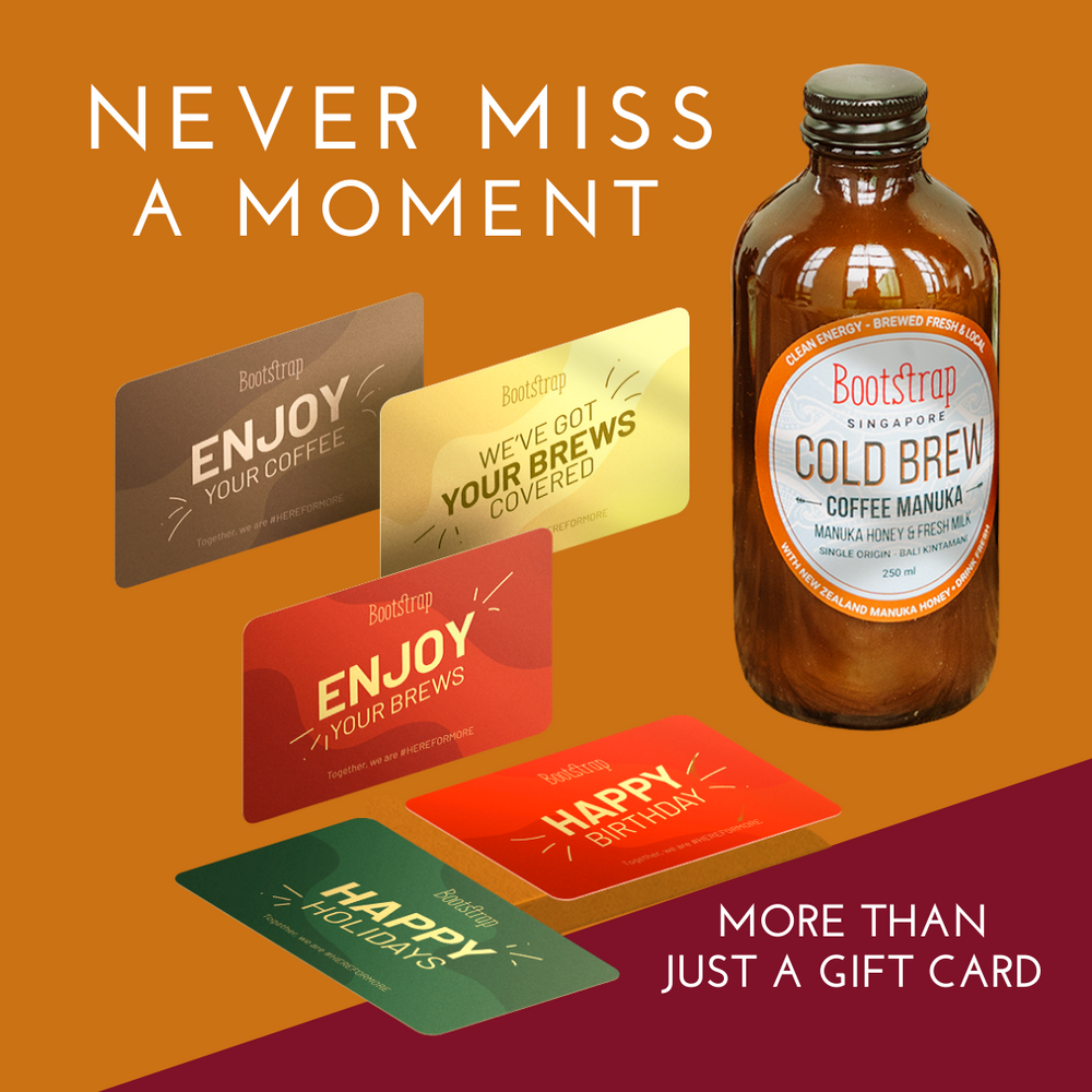 Bootstrap Cold Brew e-Gift Card