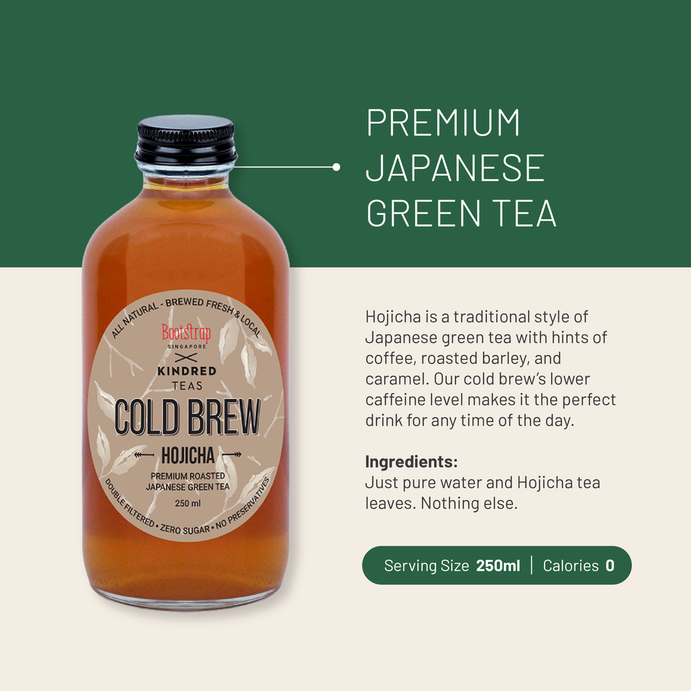 Load image into Gallery viewer, Bootstrap Cold Brew Hojicha Tea