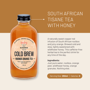 Rooibos Orange Cold Brew Tea