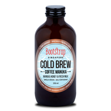 Bootstrap Cold Brew Milk & Manuka Honey