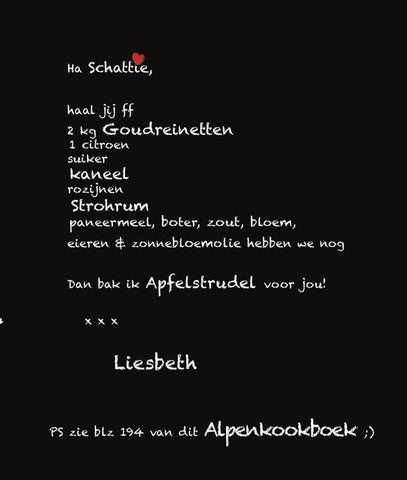 Liesbeth Willemars - Alpenkookboek