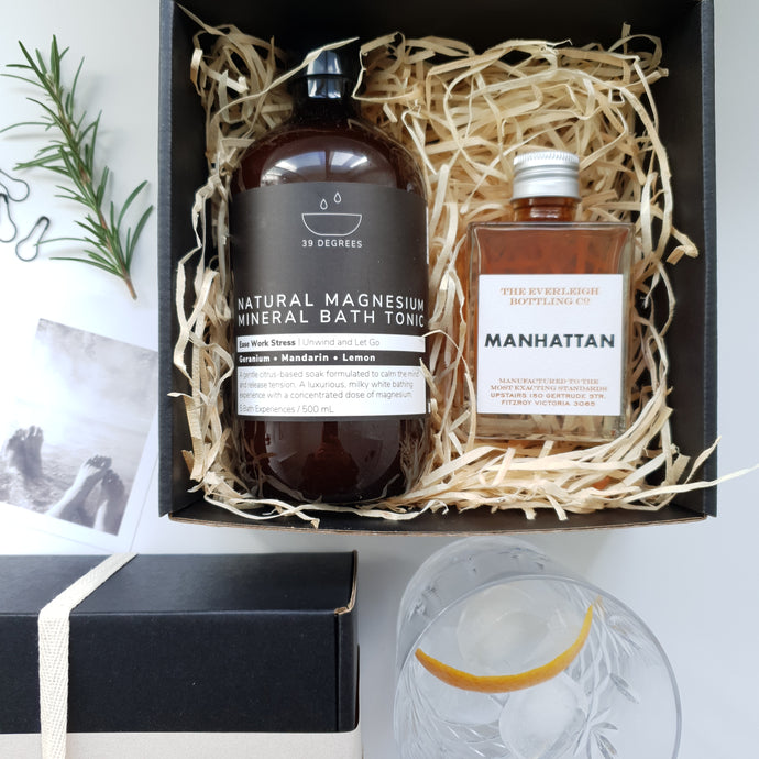 Sip and Soak Gift Box