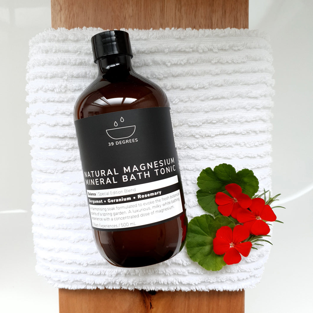 500mL BALANCE Special Edition Blend Magnesium Bath Tonic