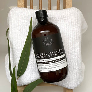500ml POST-WORKOUT Natural Magnesium Mineral Bath Tonic