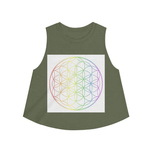 Chakra Flower of Life - Crop
