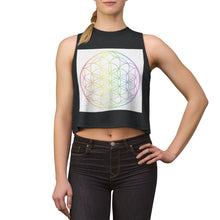 Load image into Gallery viewer, Chakra Flower of Life - Crop