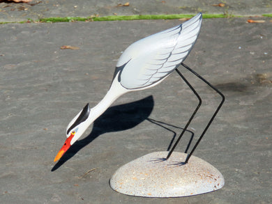 Striking Great Blue Heron Miniature