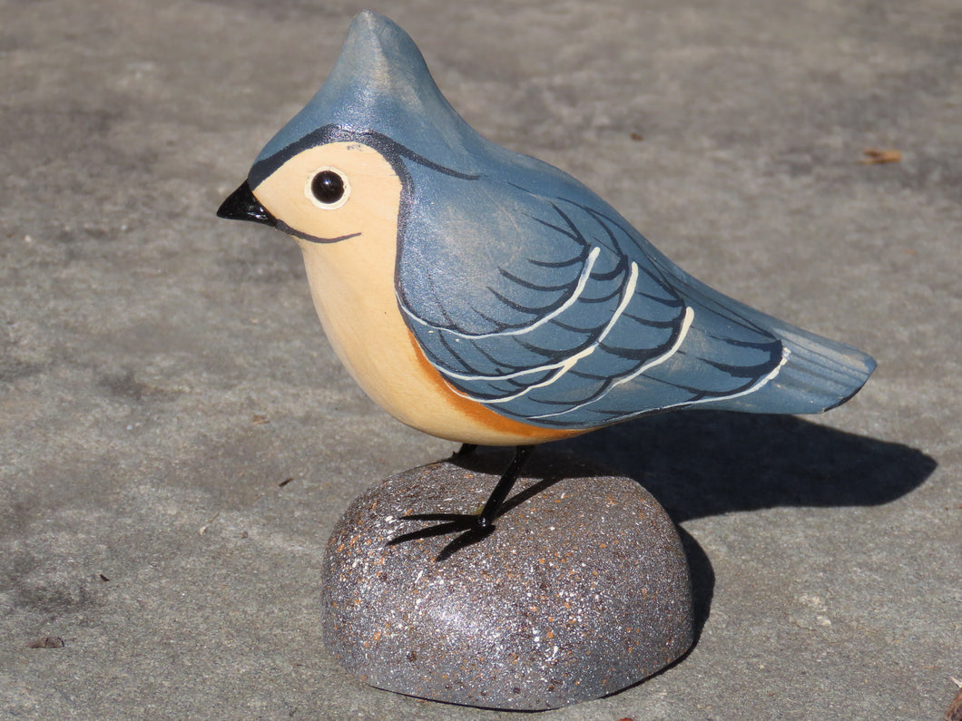 Tufted Titmouse Miniature