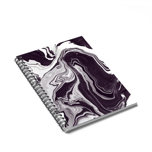 Moody Cloudy - Spiral Notebook - Ruled Line