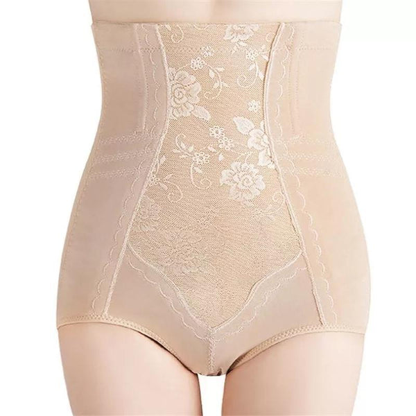 SLIM HIGH WAIST EBMROIDERED TUMMY SAPER- FOR ANY WAIST & HIP  (537)