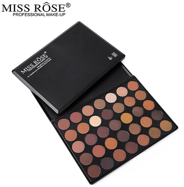 Miss Rose 35 Color High Gloss Eyeshadow
