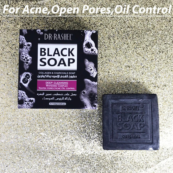 Dr Black Collagen And Charcoals Soap