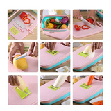 9 In 1 Multi-Functional Vegetable With Basket And Cutting Board