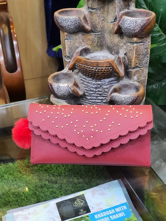 Beautiful Red Clutch 017