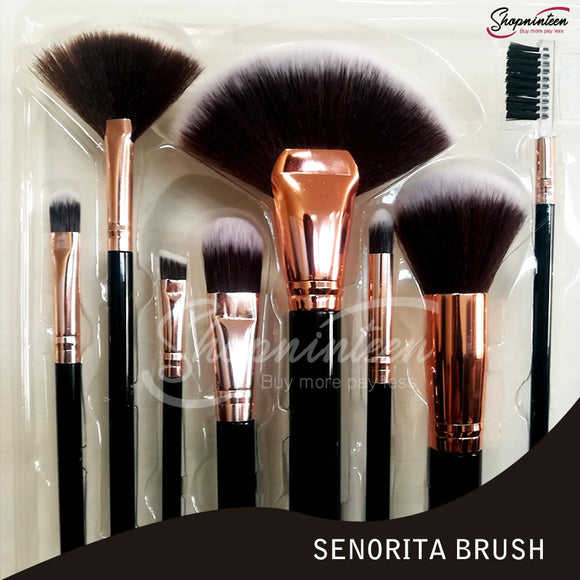 Senorita Brush set pack of 8