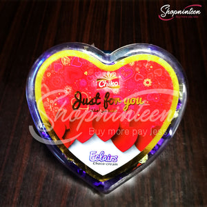 Heart Just for you Eclairs Choco Cream