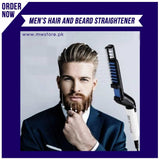 MEN'S  HAIR AND BEARD STRAIGHTENER
