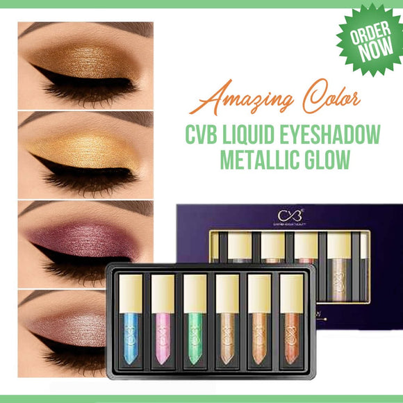 CVB Liquid  Eyeshadow Mettalic Glow