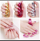 Customize MIRROR NAIL PAINTS pack of Three (3)