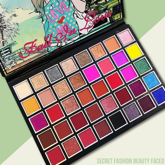 STREET BEAUTY LOVE EYESHADE PALETTE