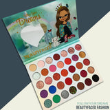DREAMS BEAUTYFACED FASHION EYESHADE PALETTE