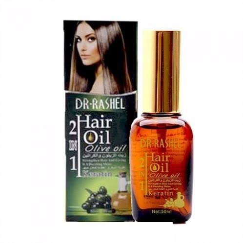 DR Rashel Hair Oil Gold 2 in 1