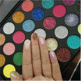 35 color Pressed Glitter Palette