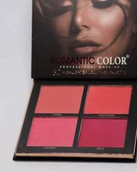 Romantic Color 3D highlighter & blusher palette