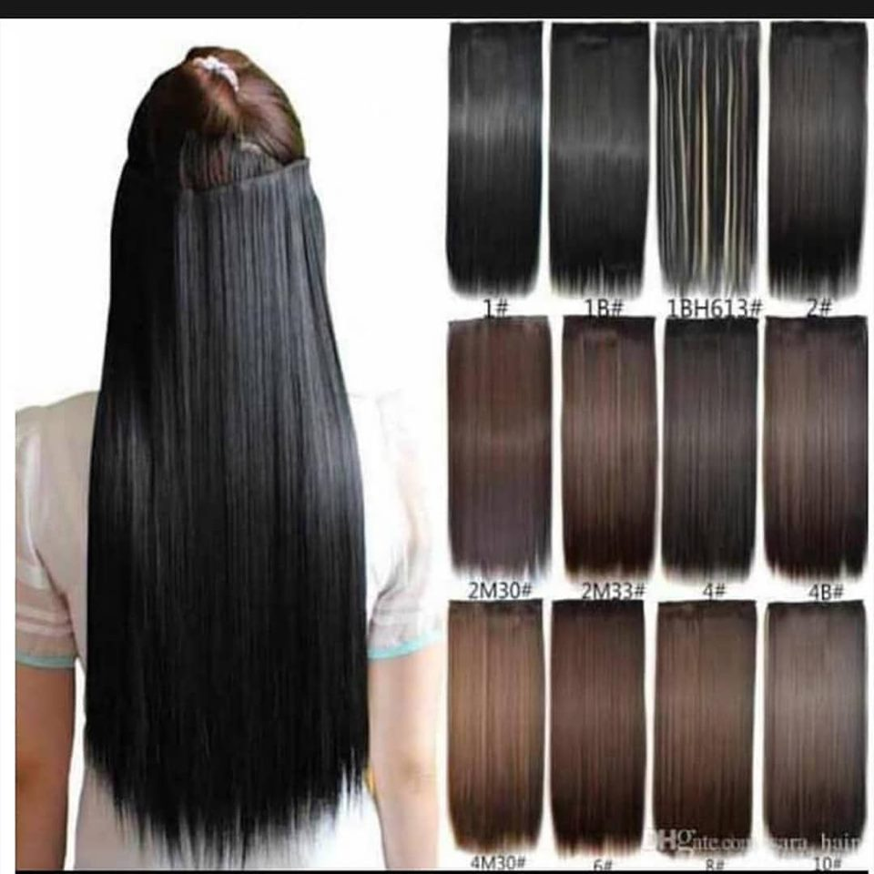 Hair extensions are available