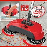 Roto Sweep by Fuller Brush, Original Cordless Hard Floor Sweeper