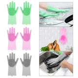 Dish washing Gloves with Scrubber