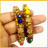 Amazing Colorfull Bangles Pack of 2