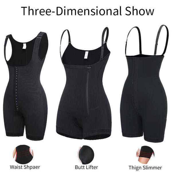 Women's Seamless Body Shaper Firm Tummy Control