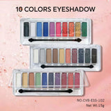 10 Color Artist Eye Shadows