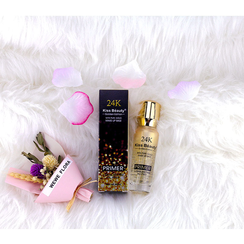 Kiss Beauty Brand 24K Gold New Liquid Primer