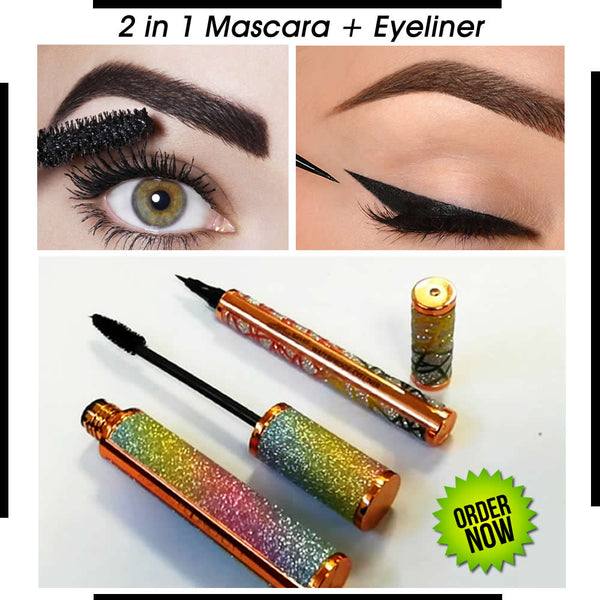 2 In 1 Mascara Plus Eyeliner